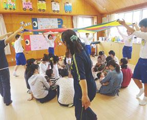 嵯峨広沢児童館の様子
